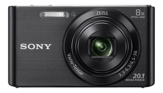 Sony Cyber-shot DSC-W830 compacta preta