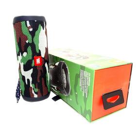 Caixa De Som Bluetooth Jbl Flip 4 Original Camuflada C/ Nfe