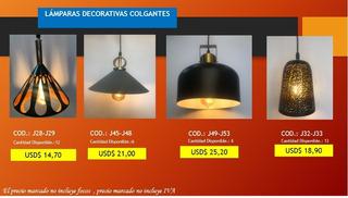 Lámparas Decorativas Colgantes Económicas Promo Navidad
