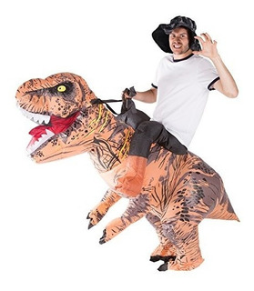 Traje De Disfraces De Dinosaurio Inflable Bodysocks