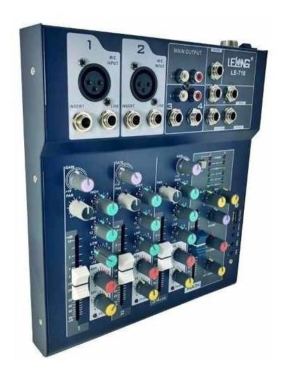Mesa De Som Controladora Bluetooth Usb Mixer Dj 4 Ch Oferta