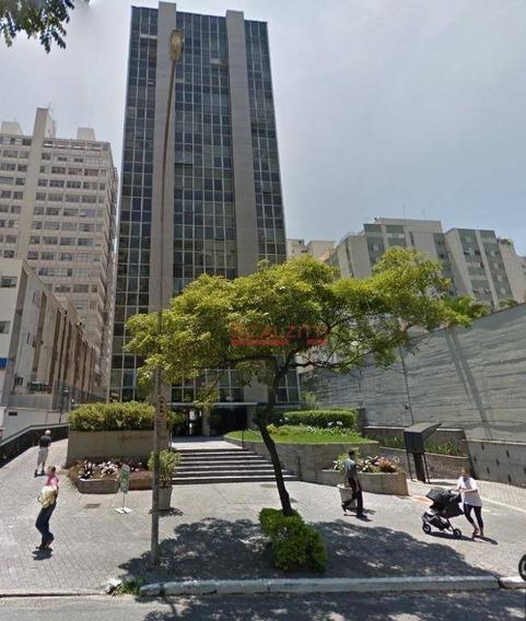Conjunto Para Alugar, 52 M² Por R$ 1.552/mês - Consolação - São Paulo/sp - Cj0598