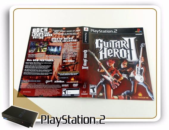 Encarte E Manual Guitar Hero 2 Original Playstation 2