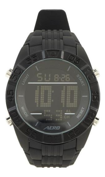 Relógio Aéropostale Rubber Strap Digital - Black