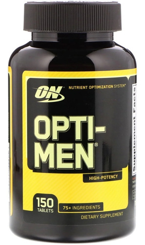 Opti-men Multi/polivitamínico On 150 Caps Importado