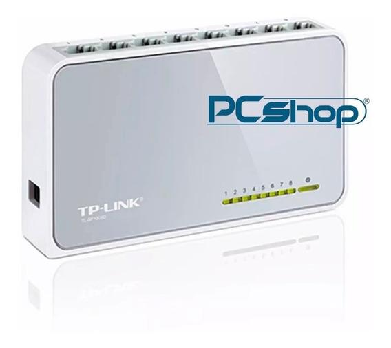 Switch 8 Puertos Tp-link Tl-sf1008d (somos Tienda Fisica)