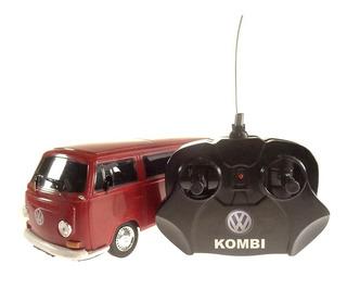 Miniatura Van Kombi Controle Remoto Vermelho Cks 1/24