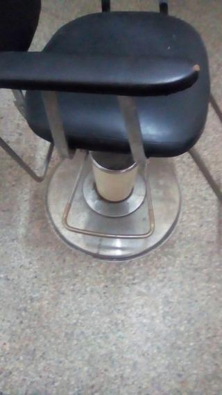 Silla Giratoria Barbería Y Peluquería Hidráulica