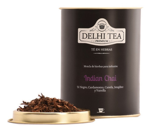 Te Hebras Delhi Tea Premium Lata Indian Chai