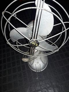 Ventilador De Metal Ideal Para Coleccionistas