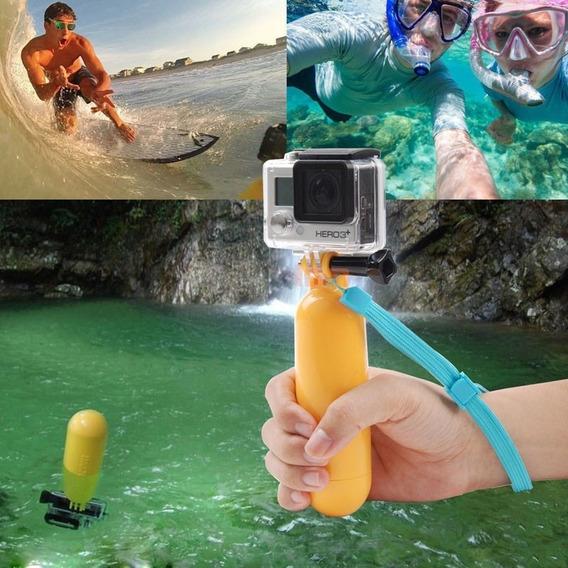 Bastão Flutuante Bobber Para Gopro Sjcam 4k E Similares