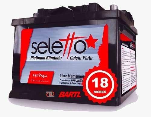 Bateria Seletto 80 Amp Garantía 18 Meses Libre Mant.