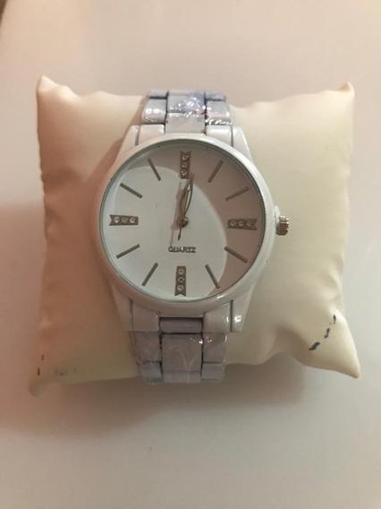 Relógio Feminino Quartz Branco