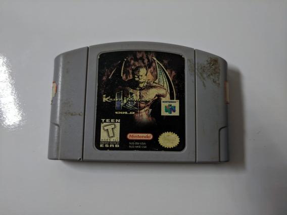 Jogos De Nintendo 64 Killer Instinct Gold Bom Estado.