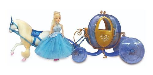 Princesa Con Carruaje Y Caballo Illusion State