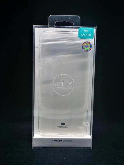 Funda Galaxy A50 Mercury Goospery Transparente Case