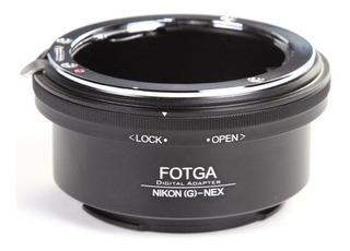 Montura Adaptador Nikon G A Nex Nex-5 Nex-7 Sony E