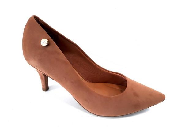 Zapato Vizzano Stilleto Punta Fina Taco 7cm Nobuck