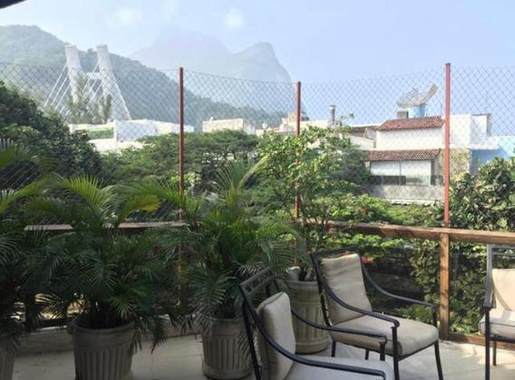 Apartamento - Cobertura, Para Aluguel Em Rio De Janeiro/rj - Md2091