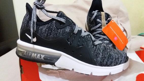Tênis Nike Air Max Fury Sequent 3 Feminino Tam. 34 Original
