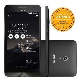 Asus Zenfone 5 A501cg 8/2gb 3g Dual 8mp Preto Vitrine 3