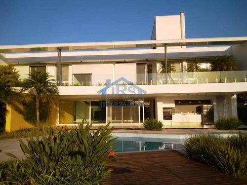 Sobrado Com 4 Dormitórios À Venda, 863 M² Por R$ 12.930.000,00 - Alphaville Residencial 1 - Barueri/sp - So1477