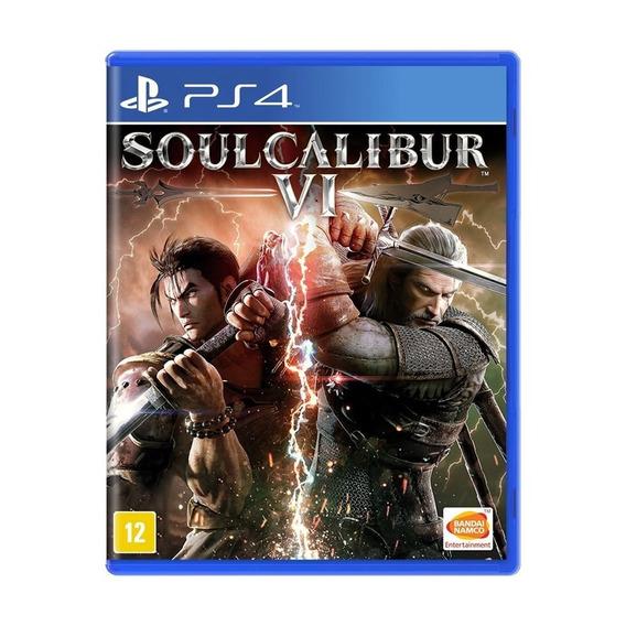 Jogo Mídia Física Soul Calibur Vi 6 Para Playstation Ps4