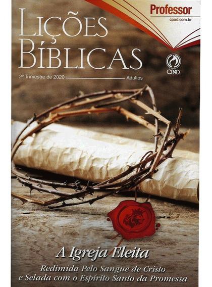 Revista Lições Bíblicas Adulto Professor Ampliada ( Grande )