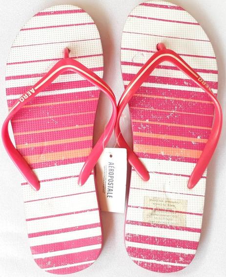 Sandalia Para Dama Aeropostale Modelo 9736 Rosa Oferta