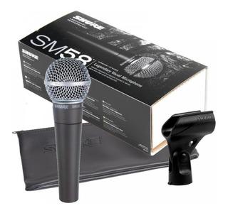 Microfono Dinamico Shure Sm58-lc Para Voces De Mano