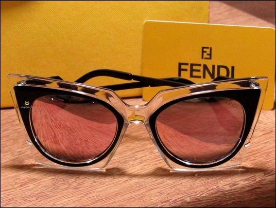 Óculos De Sol Fendi Orchidea Unisexx Já No Brasil °1028°
