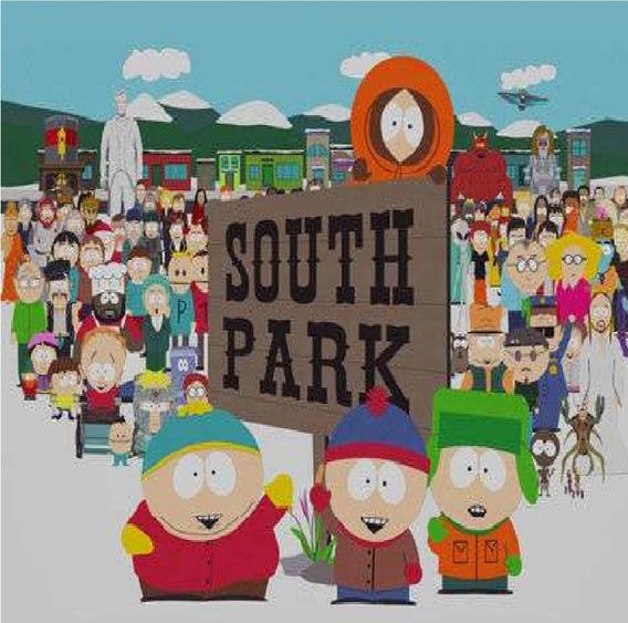 South Park 1°a 22° Temporadas, Dublado Frete Grátis