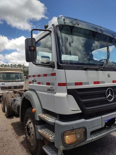 - Mercedes-benz Axor 2831 6x4 Ano 2011/2011 Chassi Traçado