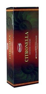 Hem Varitas De Incienso Aroma A Citronella 120count