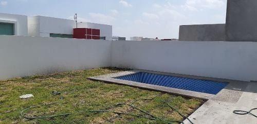 Imagen 1 de 22 de Preciosa Casa Con Alberca Propia En Cumbres Del Lago, Terraza, Jardín, 3 Recs..
