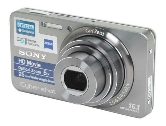 Camara Sony Cyber-shok 16.1 Mpx Con Todo Sus Accesorios
