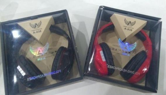 Fone De Ouvido Ltomex Folding Led A-838 Wireless Headphone