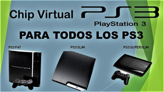 Chip Virtual Ps3 Play Station 3 Fat Slim Superslim Juegos Em
