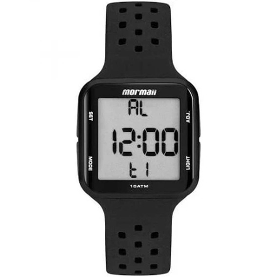 Relógio Digital Mormaii Masculino Preto Digital Mo66008p