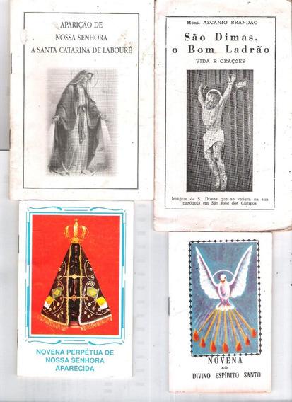 4 Novenas São Dimas, Nossa Senhora Aparecida, Espírito Santo