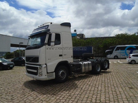 Volvo Fh-460 Globetrotter 6x2 (e5) I-shift Branco 2014