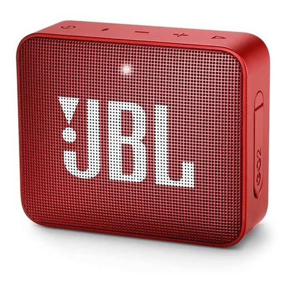 Caixa De Som Vermelho Go 2 - Jbl