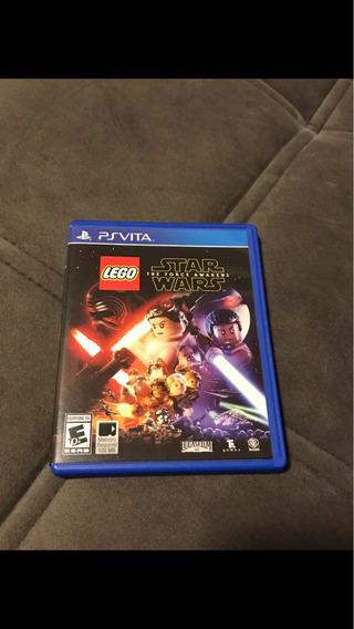 Jogo Ps Vita Lego Star Wars Mídia Física