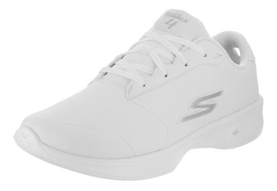 Tenis Skechers Go Walk 4 Dama Piel 5a Gen 14912