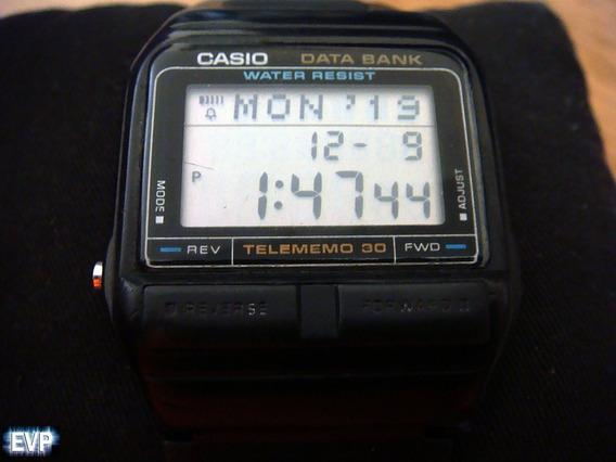Raro Reloj Casio Db-31 Data Bank De Colección. Korea
