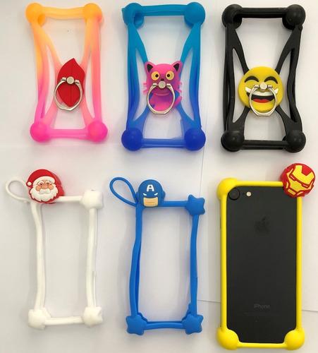 Protector Silicona Diseños 3d Todos Los Tamaños De iPhone ®