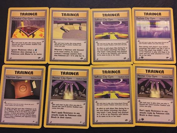 Lista Cartas Pokemon Pack 8 Estadios - Mtgalsur