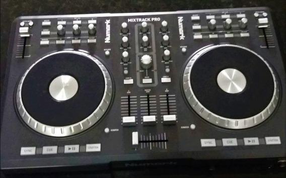 Controladora Dj Mixtrack Pro 1 + Case Em Mdf