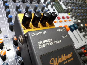 Pedal Waldman Super Distortion Sd1