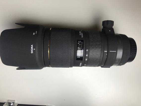 Lente Objetiva Sigma Ex 70 200 F2.8 Para Canon